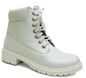 Bamboo White Trekking Boot - Women