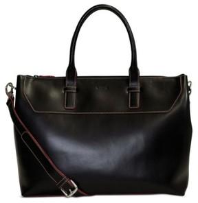 Lodis Audrey Wilhelmina Leather Work Satchel - Black