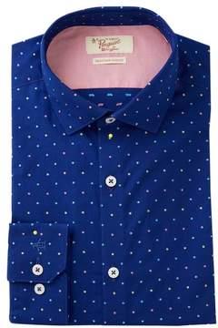 Original Penguin Dot Print Slim Fit Shirt
