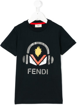 Fendi Kids Bag Bugs T-shirt