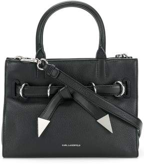 Karl Lagerfeld Rocky Bow small shopper tote