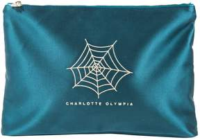 Charlotte Olympia Silk clutch bag