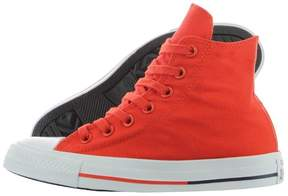 Converse UNISEX Chuck Taylor All Star Shield Mens High?Top Sneakers (9.5 B(M) US Women / 7.5 D(M) US Men, Signal Red/White)