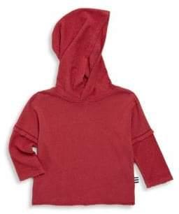 Splendid Baby's Reverse Fabric Hoodie