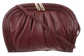 Oscar de la Renta Leather Crossbody Bag