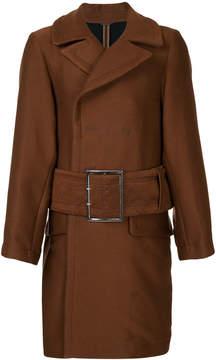 Miharayasuhiro belted coat