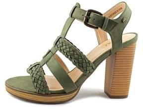 XOXO Womens Kurt Open Toe Ankle Strap Platform Pumps.