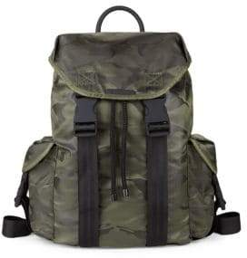 KENDALL + KYLIE Large Jordyn Camo Nylon Backpack