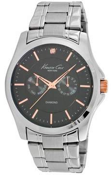 Kenneth Cole Men's Diamond Accent Stainless Steel Watch 10022311