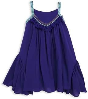 Catimini Little Girl's & Girl's Tassel Halter Dress