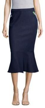 Elie Tahari Eavanna Flounce Skirt
