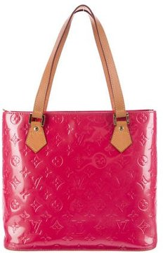 Louis Vuitton Vernis Houston Tote - PINK - STYLE