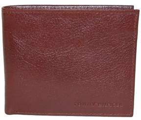 Tommy Hilfiger Men's Leather York Passcase Bilfold Wallet, Tan