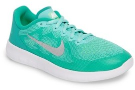 Nike Girl's Free Run 2 Athletic Shoe