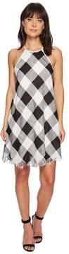 Bishop + Young Plaid Shift Dress Women's Dress