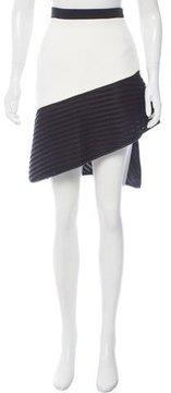 David Koma Asymmetrical Knee-Length Skirt