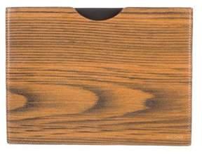 Jack Spade Leather iPad Case