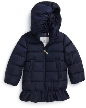 Moncler Toddler Girl's Azinza Hooded Down Jacket