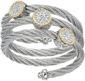 Alor Women's Classique 18K Gold Stainless Steel Diamond Ring