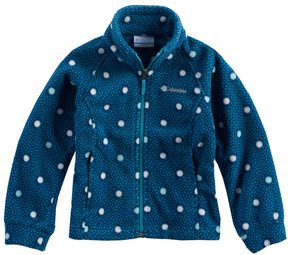 Columbia Toddler Girl Three Lakes Fleece Midweight Jacket