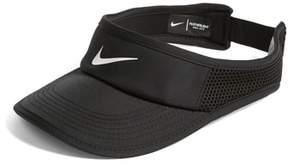 Women's Nike Court Aerobill Tennis Visor - Black