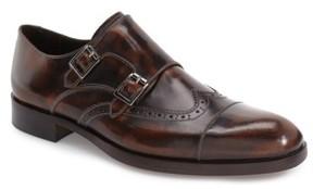 Donald J Pliner Men's 'Ziggy' Double Monk Strap Shoe