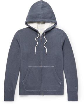 Rag & Bone Standard Issue Loopback Cotton-Jersey Hoodie