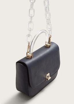 Violeta BY MANGO Detachable chain bag