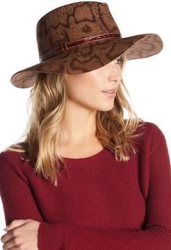 Eric Javits Karli Water Repellent Python Print Wool Hat
