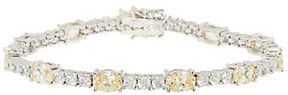 Elizabeth Taylor As Is The Simulated Diam. Tennis Bracelet
