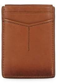 Fossil Leather Logo Card Case
