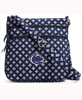 Vera Bradley Penn State Nittany Lions Triple Zip Hipster - BLUE - STYLE