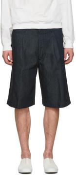 Lemaire Indigo Denim Shorts