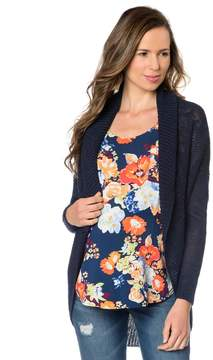 A Pea in the Pod Lightweight Maternity Cardigan- Midnight