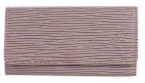 Louis Vuitton Epi Key Pouch - GREY - STYLE