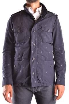 Reign Men's Blue Cotton Outerwear Jacket.