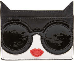alice + olivia Stace Face Cat Card Case