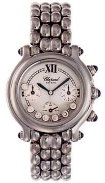 Chopard Happy Sport Chronograph Steel Ladies Watch