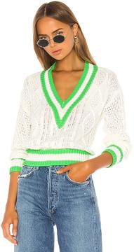 superdown Karen Deep V Sweater
