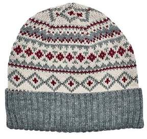 San Diego Hat Company Women's Fair Isle Knit Beanie With Cuff Knh3463.