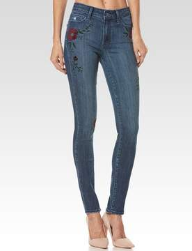 Paige Hoxton Ultra Skinny - Floral Indigo