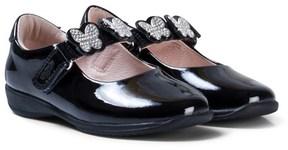 Lelli Kelly Kids Black Patent Love School Dolly Shoes
