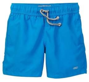 Trunks Le Club Wet Print Blue & Jelly Swim Trunk (Little Boys & Big Boys)