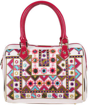Nicole Lee Women's Ianeke Mirrored Boston Bag