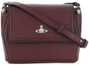 Vivienne Westwood logo embellished shoulder bag