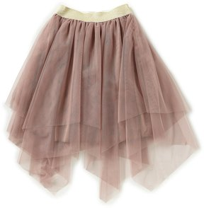 Xtraordinary Big Girls 7-16 Tulle Hanky-Hem Skirt