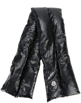 Moncler cross padded scarf