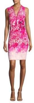Elie Tahari Floral Sheath Dress
