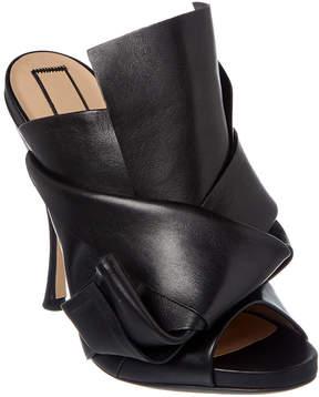 N°21 N21 Leather Bow Mule