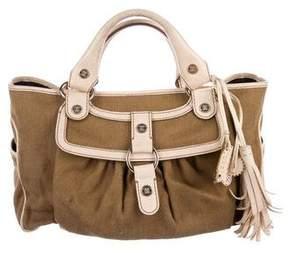 Celine Leather-Trimmed Boogie Bag